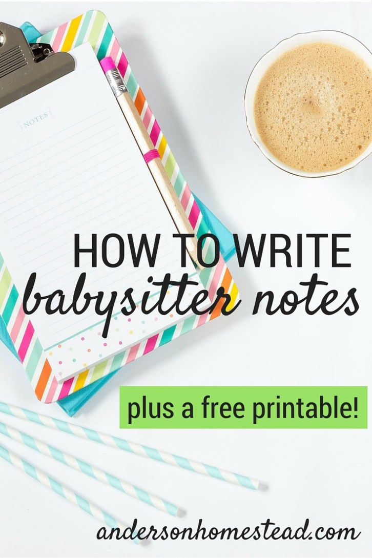 best ideas about babysitter notes babysitter how to write babysitter notes