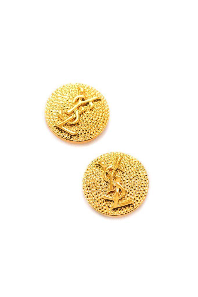Sterling Silver Button Clip On Earrings Jewelry