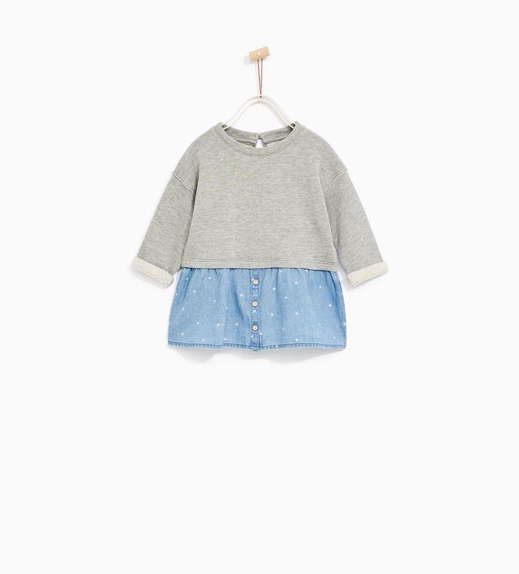 CONTRAST DRESS from Zara