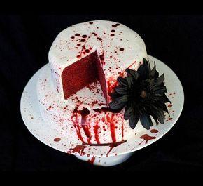 Жуткие и страшные торты на Хэллоуин...