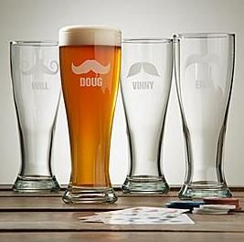 Custom Laser Etched Beer Glasses
