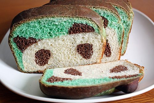 panda bread. @amanda pierce should make this!