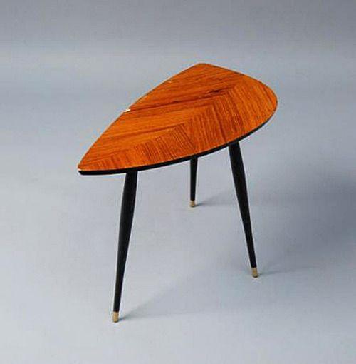 Gillis Lundgren, table Lövet, 1956. IKEA. 1 | Prototype 2 | First Ikea furniture with DIY aspect and packaging. © Pinakotheken München. Exhi...