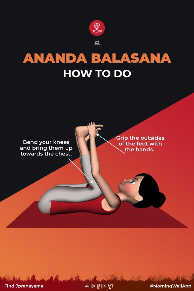 Ananda Balasana   Steps Happy Baby Pose   Benefits of Ananda ...
