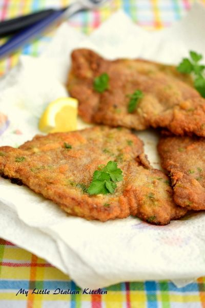 Tasty beef breaded minute steak. Easy and quick.