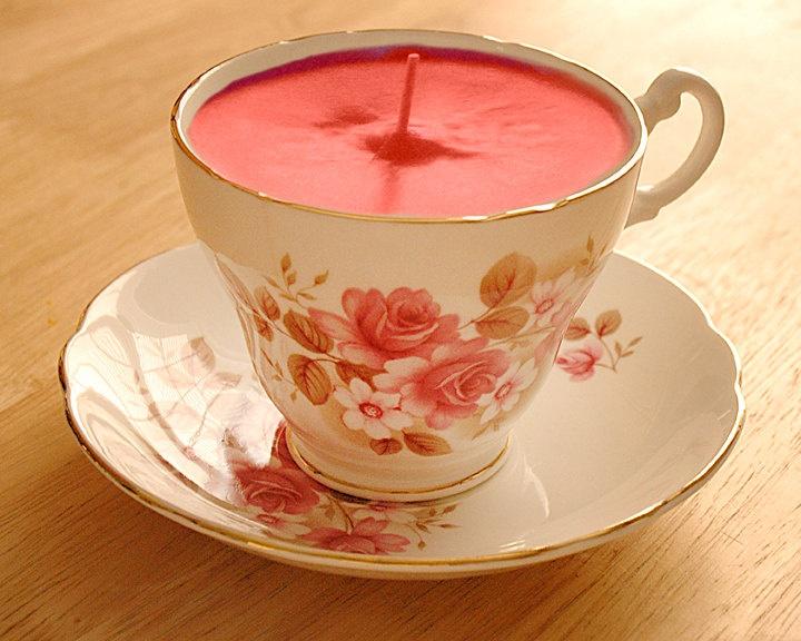 Tea candles. Literally!