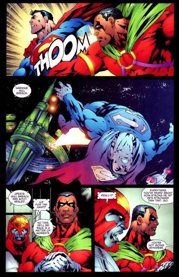 Icon vs Superman   Superheroes, Weather and General ...
