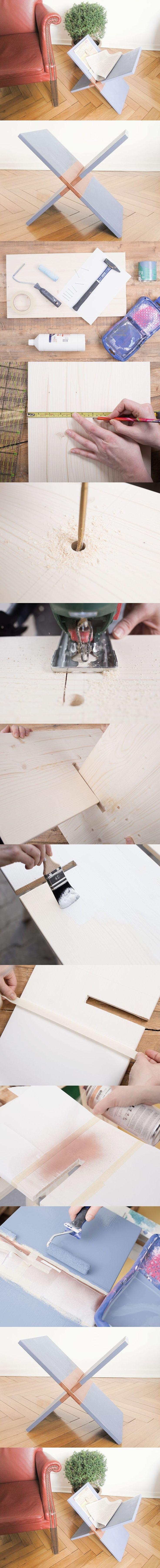 Revistero de madera minimalista - Muy Ingenioso