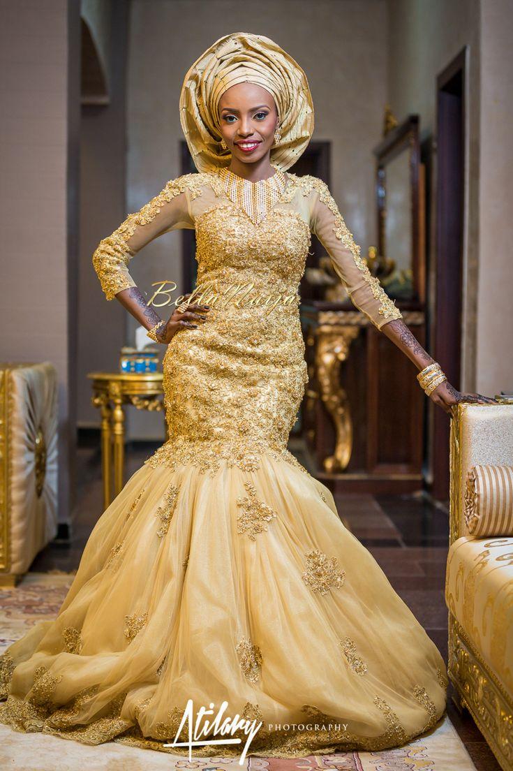 Farida salisu yusha u abubakar sani aminu hausa muslim for Nigerian traditional wedding dresses