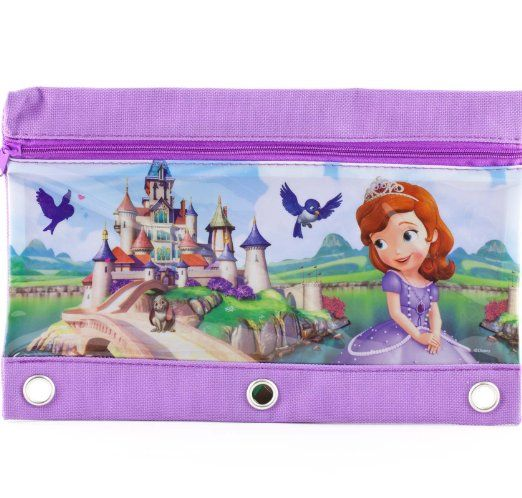 Amazon.com: Sofia the First Pencil Pouch Case: Office Products
