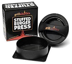 Stuffed Hamburger press! Make the most delicious burgers