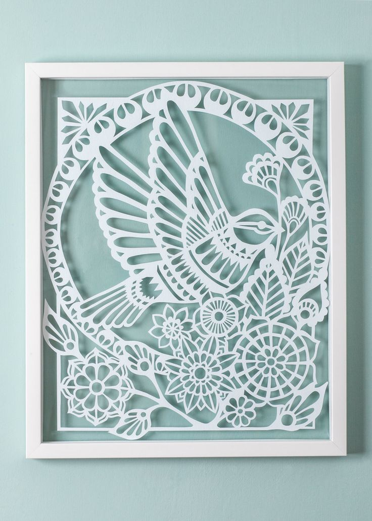 Dove Paper Cut  - Framed by inkandblade on Etsy https://www.etsy.com/listing/218971601/dove-paper-cut-framed