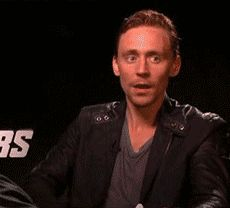 Hiddleston mind blown