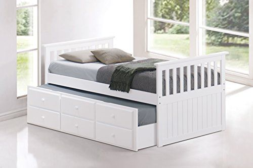 Broyhill Kids Marco Island Captain's Bed with Trundle Bed and Drawers, White //http://bestadjustablebed.us/product/broyhill-kids-marco-island-captains-bed-with-trundle-bed-and-drawers-white/