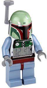 Star Wars Boba Fett LEGO Alarm Clock