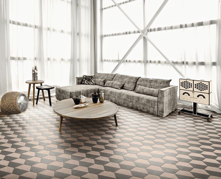 half designed by paola navone for the bisazza contemporary cement tiles collection flooring. Black Bedroom Furniture Sets. Home Design Ideas