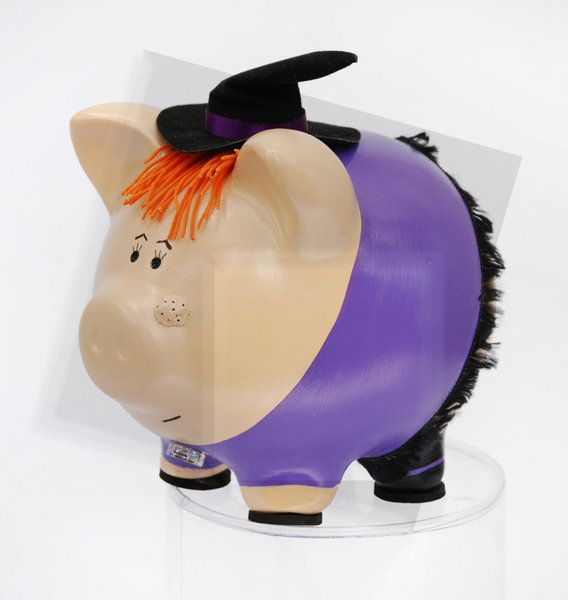 172 best Pig images on Pinterest  Piggy banks Pigs and Clay