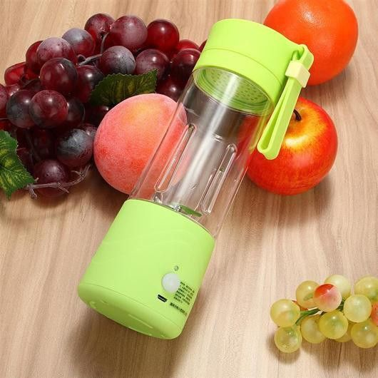 Portable 380ml USB charge Electric Fruit Juicer/Smoothie Bottle