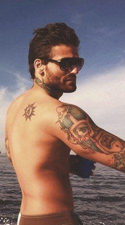 Corey graves corey graves pinterest for Corey graves tattoos