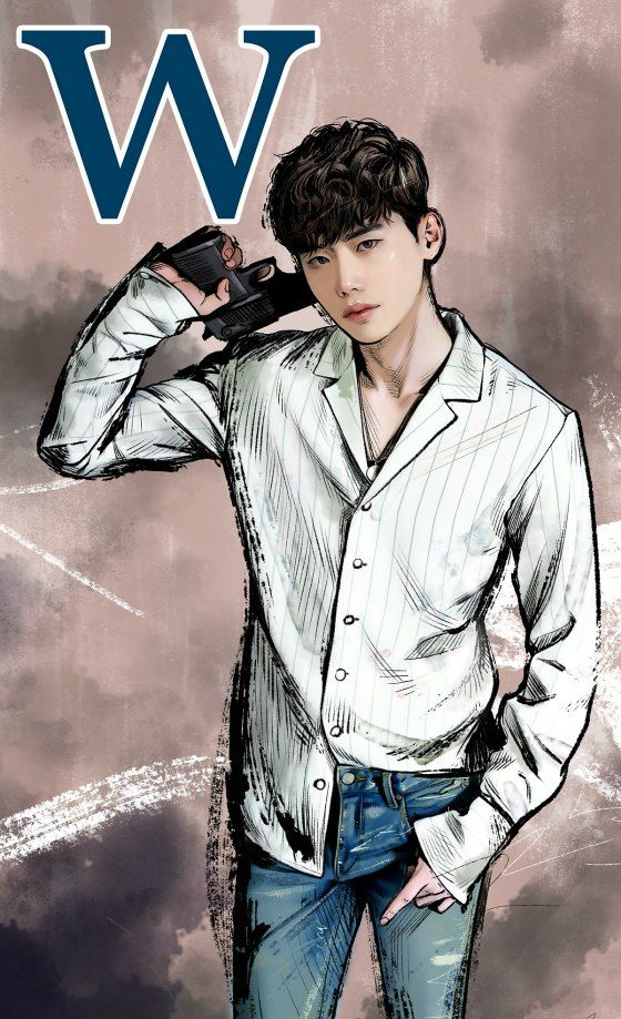 Comic book collections and dreamlike kisses in W–Two Worlds » Dramabeans Korean drama recaps W–Two Worlds premieres next Wednesday, July 20.