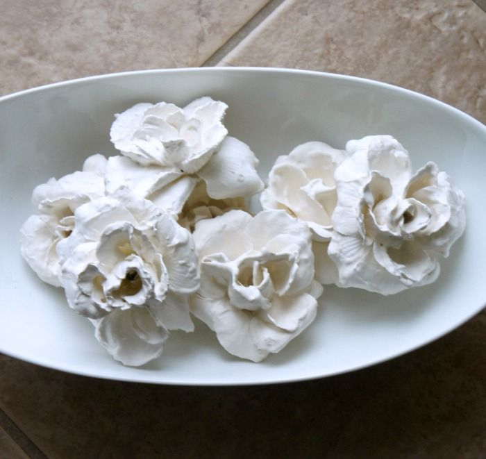... Beach: Easy DIY Plaster Dipped Flowers   Plaster, Flower and Autumn