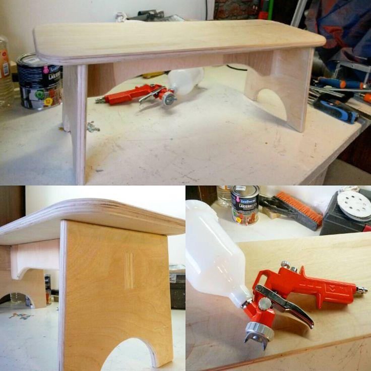 Еще немножко скамеечки #diy #покраска #сделайсам #woodworking #handmade
