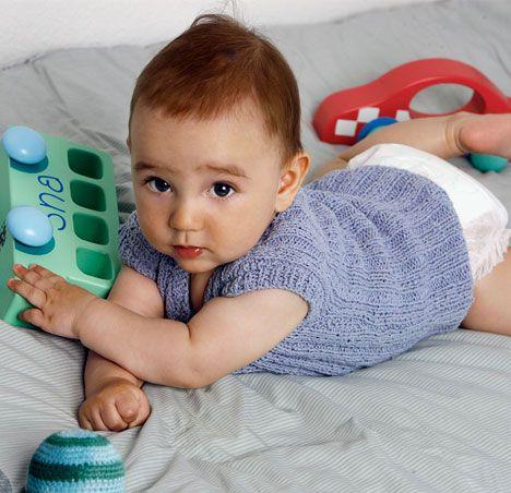 Babyundertrøje i silke