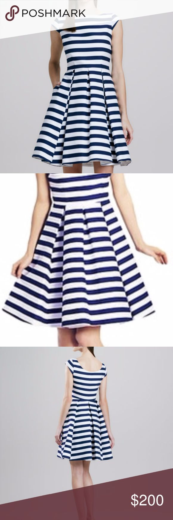 Kate Spade New York Mariella Striped Party Dress New with tags. Size 14. kate spade Dresses Mini