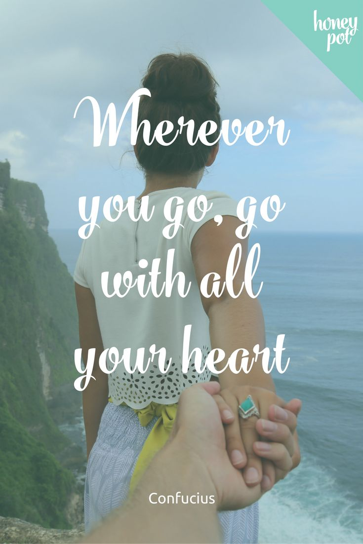 Yes! Love this - so important to remember for your honeymoon, other travel, and day to day life.
