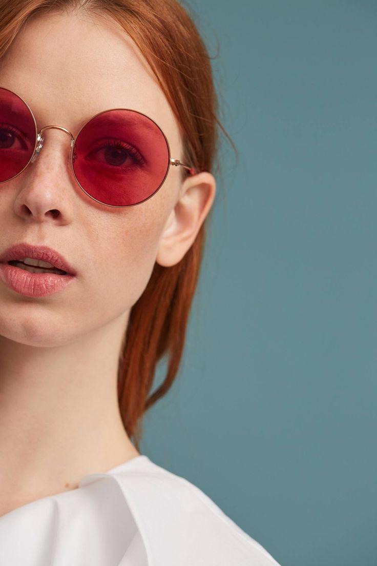 Ray-Ban Round Pink Sunglasses