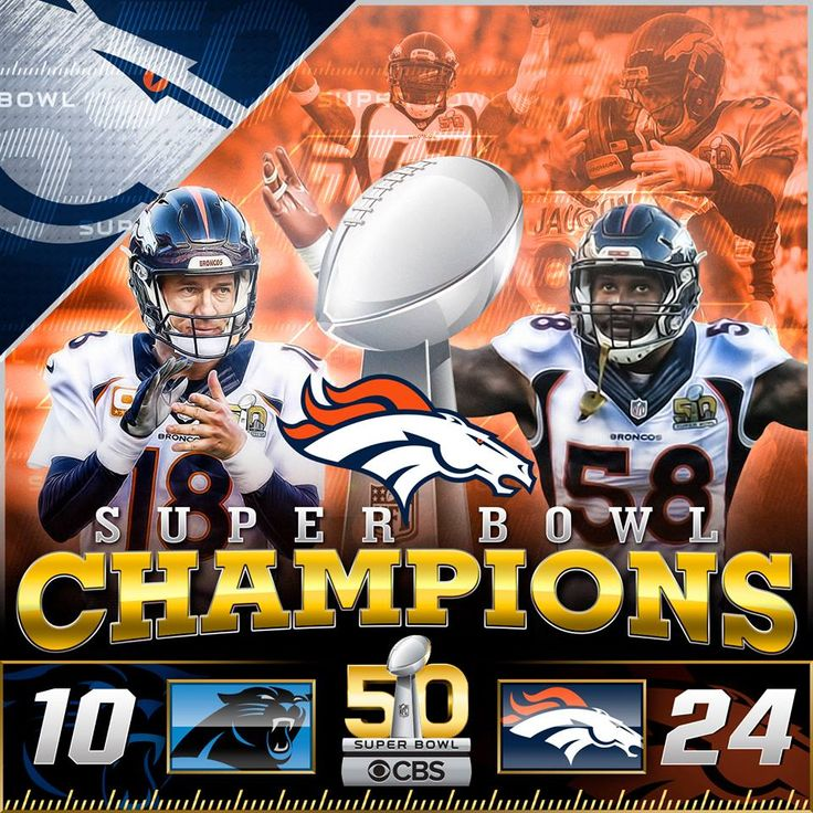 """Peyton and the Broncos """"galloped"""" into History!"""