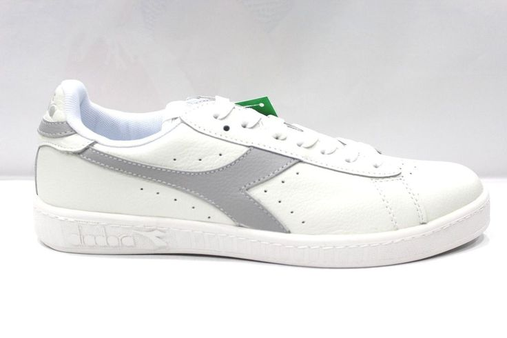Scarpe Diadora GAME L Shoes Sneakers basse Unisex White Grigio Alluminio