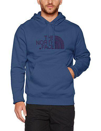 The North Face Drew Peak Sweat-Shirt à Capuche Homme: Les mélanges de Drew North Face pointe hommes à capuche style athlétique et le…