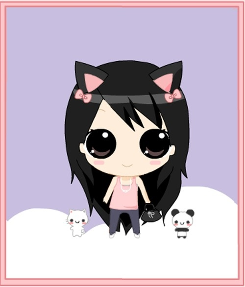 Chibi kawaii anime girl :3