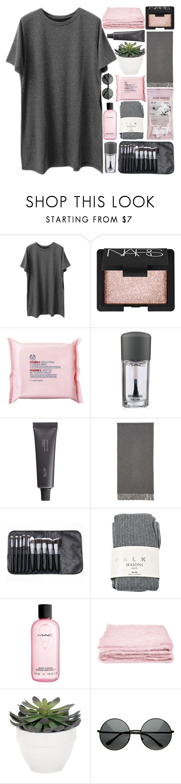 """""""-changing boxes-"""" by h-eartstrings ❤ liked on Polyvore featuring NARS Cosmetics, The Body Shop, MAC Cosmetics, Bite, Acne Studios, Falke, abcDNA, Torre & Tagus, MLC Eyewear and ThisIsNotADrill"""
