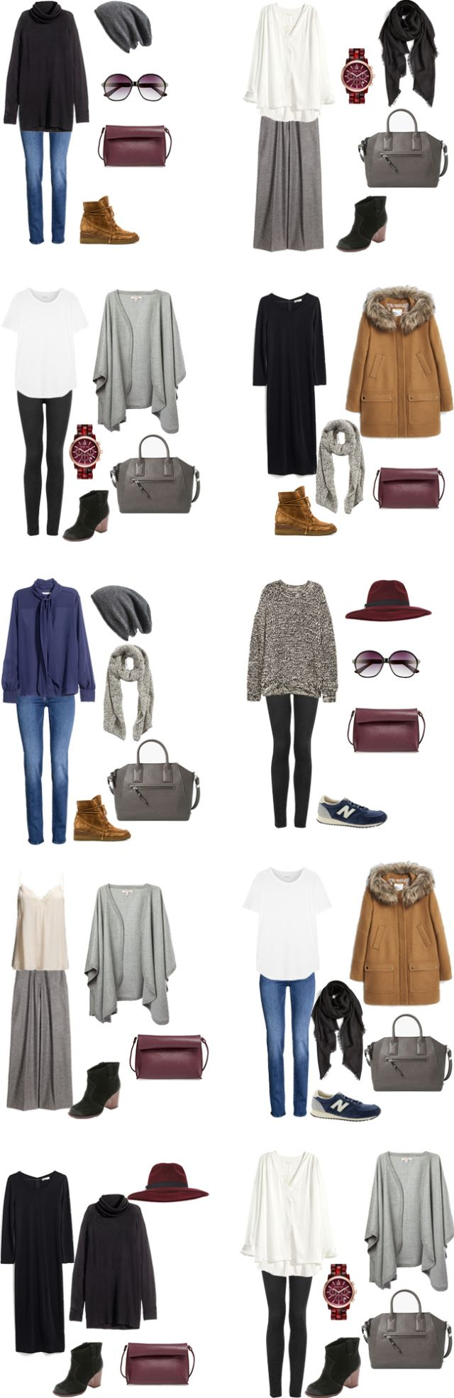 What to Wear In Munich Germany. Packing light outfits 1-10.
