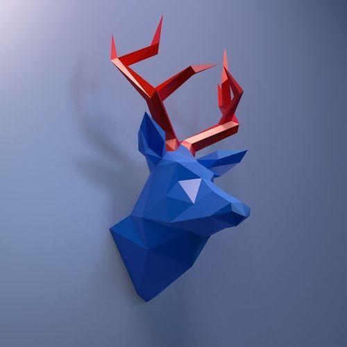 deer head   3D Print Model