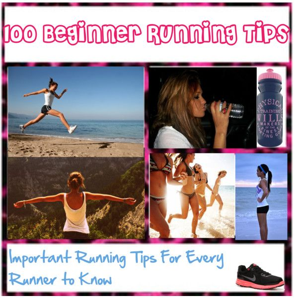 """""""Running Tips:"""" by lessthanthreejb on Polyvore"""