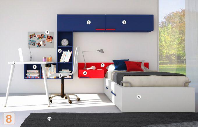Dise la habitaci n de tus hijos con muebles c modos for Disena tu habitacion