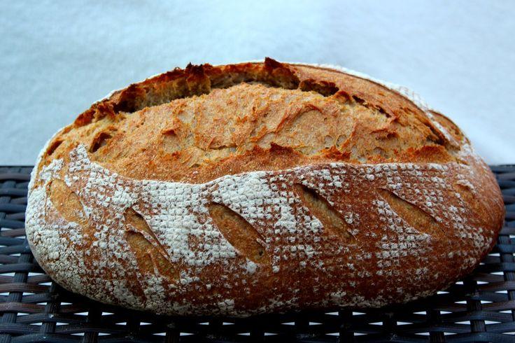 Rozskovászos kenyér,alaprecept fázisfotókkal