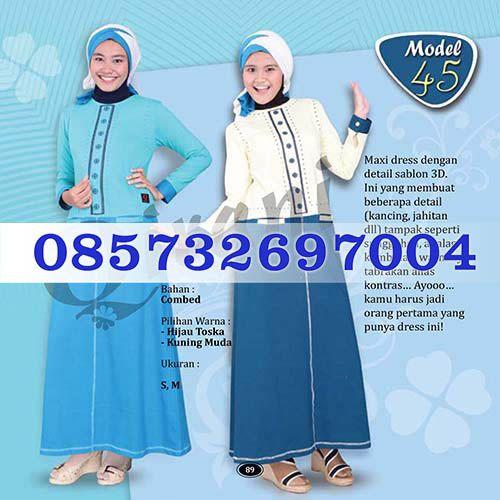 Gamis Qirani Model 45 Hubungi 085732697004 PIN BB D10F64D6