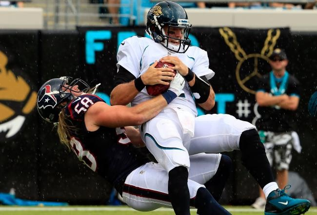 Sack!!  Texans vs Jaguars