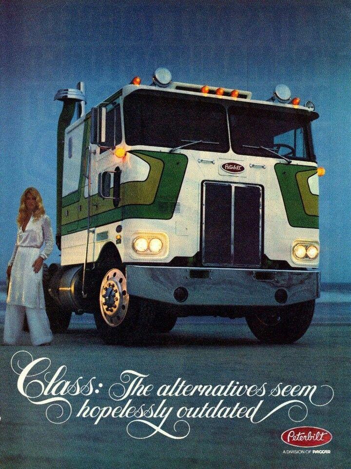 70's Peterbilt Class ad