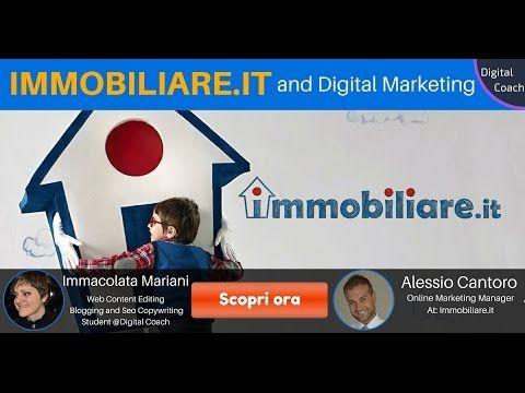 Immacolata Mariani studente di Digital Coach, intervista Alessio Cantoro, Online Marketing Manager di Immobiliare.it. Leggi l'articolo completo sul blog di D...