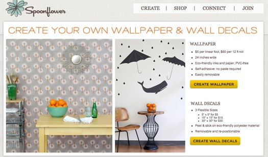 Create Your Own Temporary Wallpaper Walls Pinterest