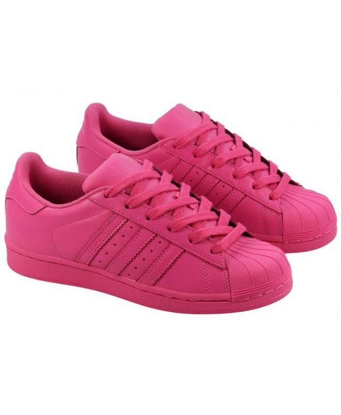 71e75aa56ebc9c New Arrival Adidas Superstar Womens Pink Cheap Sale T-1351
