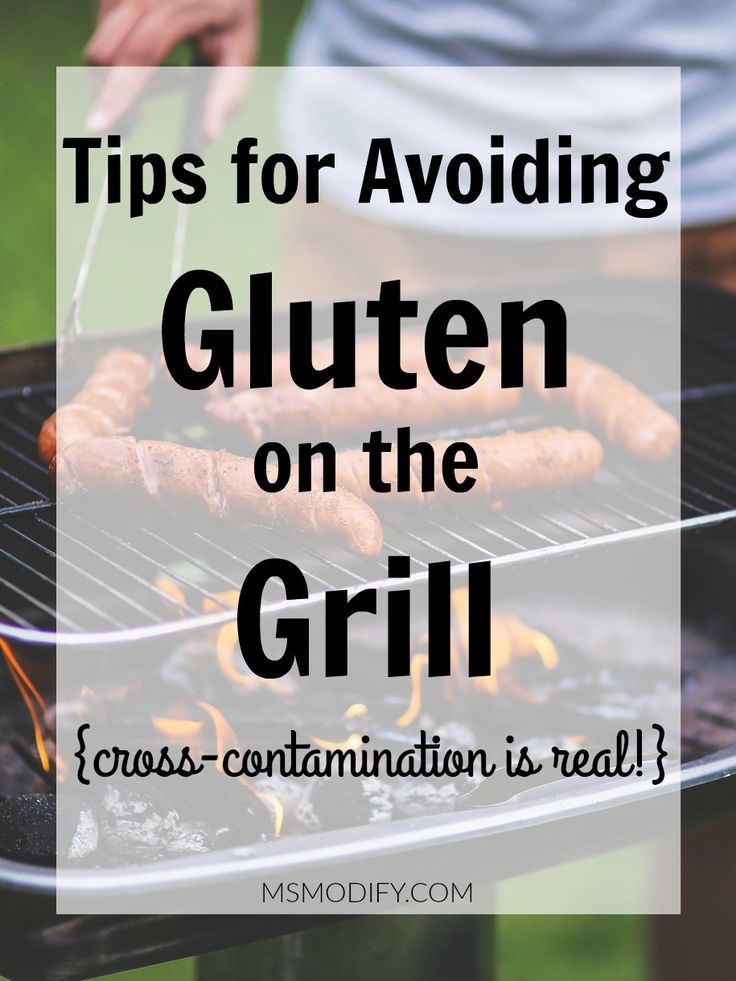 Tips for Avoiding Gluten on the Grill so you don't have to worry about cross-contamination!