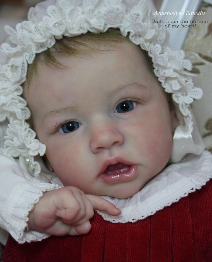 Reborn baby doll SASKIA BONNIE BROWN*Realistic reborn Anastasiy Gangalo *IIORA*