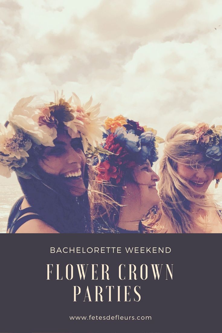 Host a flower crown party as part of your Nashville Bachelorette Party weekend! #nashvillebachelorette #nashevillebacheloretteparty