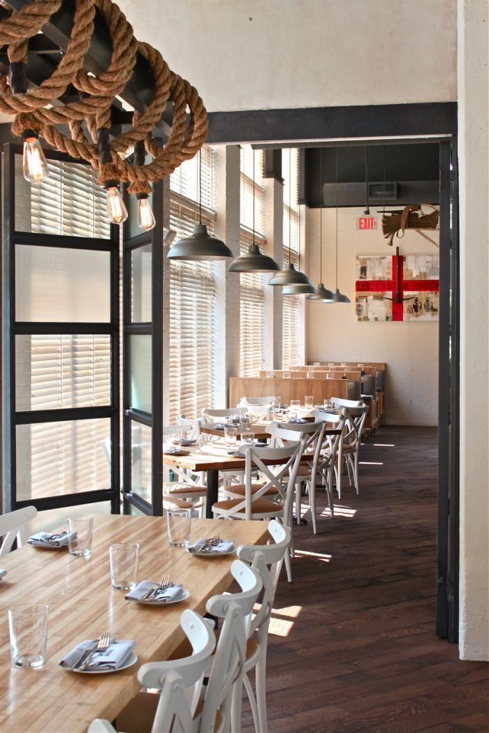A Hose Factory Transformed West Bridge Restaurant In Boston